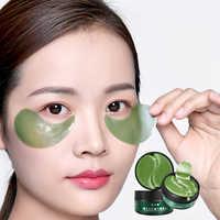 Schönheit Kosmetik Frauen Kristall Kollagen Patches Für Auge Entfernen dunkle augenringe Augen Maske Hautpflege