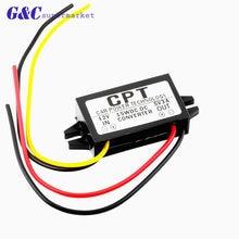 1 pces dc/dc conversor regulador 12v a 5v 3a 15w carro display led módulo de fornecimento