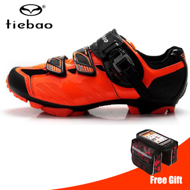 Tiebao cycling shoes sapatilha ciclismo mtb mountain bike sneakers professional self locking athletic breathable Riding Shoes|Cycling Shoes| |  - title=