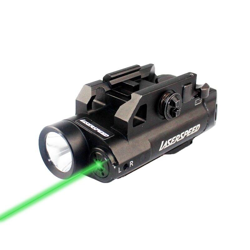 Green/ Red / IR Laser Sight Scope Weapon Light Aluminum Alloy Compact Tactical Gun Laser