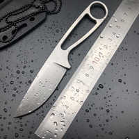 Bmt Ant IZULA Feste Klinge Messer Taktische Rowen D2 Klinge Griff Messer Camping Jagd Überleben Gerade Messer Kydex EDC Werkzeuge