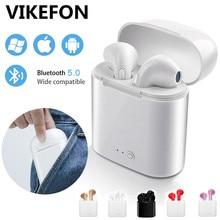 I7s Tws Draadloze Hoofdtelefoon Bluetooth 5.0 Oortelefoon Air Oordopjes Handsfree In Ear Headset Met Lader Doos Voor Iphone Huawei Xiaomi