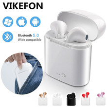 i7s Tws Wireless Headphone Bluetooth 5.0 Earphone Air Earbuds Handsfree in ear Headset with Charger Box For iPhone huawei Xiaomi