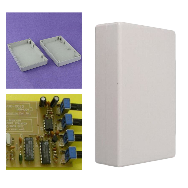 125x80x32mm Project Electronic Case Enclosure Meter Box Holder Accessories