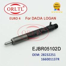 ORLTL OEM 28232251 0286KE29W87 EJBR05102D EJBR05102D common rail kraftstoff düse injektor oder DACIA