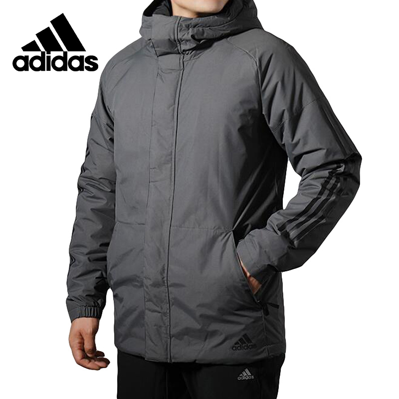 Adidas XPLORIC 3S Down Jacket Mens Running Jas Sport Kleding Windproof Hoodies CY8641