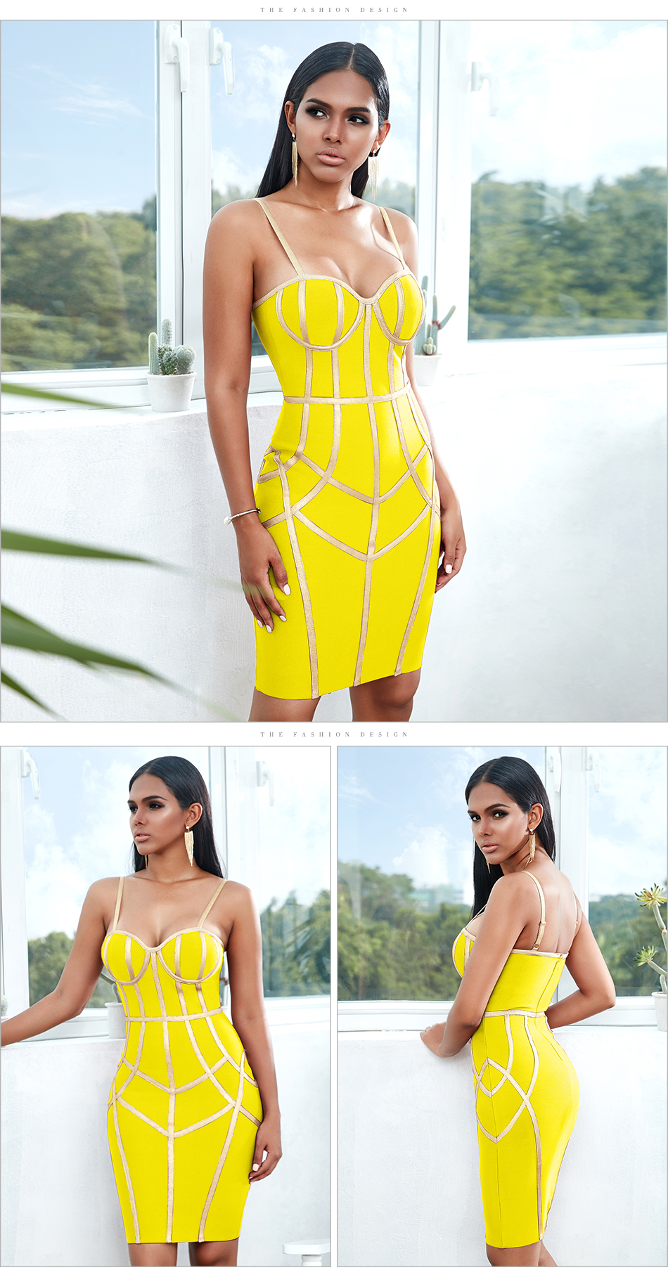Hda0fa5d6c5454c3197a92de3a4516bfeB - Adyce New Summer Bodycon Bandage Dress Women Vestido Sexy Spaghetti Strap Sleeveless Club Hot Celebrity Evening Party Dress