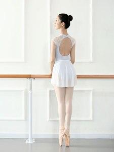 Image 5 - New arrrival Womens Dance Leotard Performance Leotards Ballet Latin Adult Bodysuit Lycra Spandex Sleeveless Unitards StageWear
