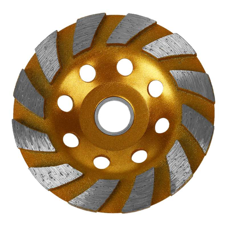 Diamond Grinding Wheel, 100mm, For Stone And Concrete