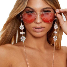 Glasses Chain Holder For Color crystal Lanyard Fashion Glasses Strap Sunglasses Cords Casual Glasses