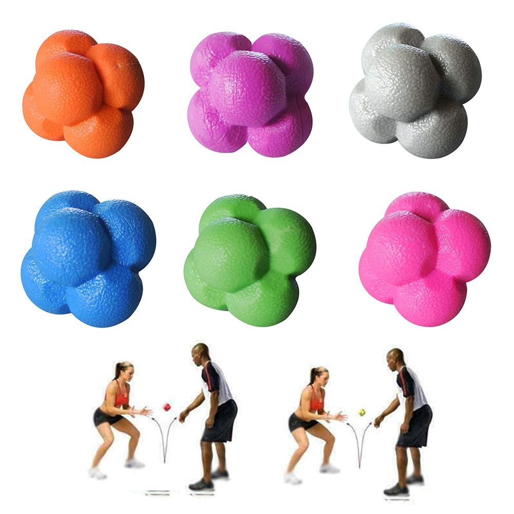 Hexagonal Reaction Ball Agility Training Reaction Ball Coordination Agility K5V5