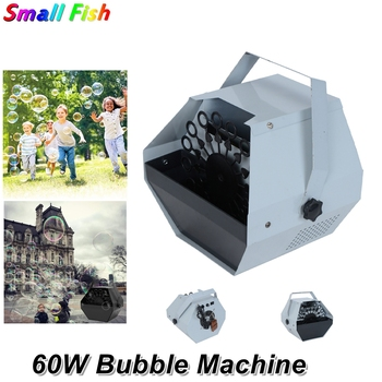 Professional 60W Bubble Machine Automatic Bubble Machine Remote Control  DJ For Wedding Party Stage Effect Christmas Decorations