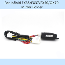 цена на Car Automatically Side Mirror Folder Foding Spread For Infiniti/FX35/FX37/FX50/QX70/M35 Before 2009/QX56 Before 2013