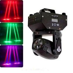 10 w conduziu a luz do feixe/rgbw mini feixe dmx movendo a cabeça luzes de palco profissional para festa discoteca dj ponto iluminação linear feixe efeito
