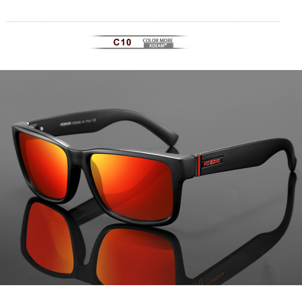 C10 Black Frame Red