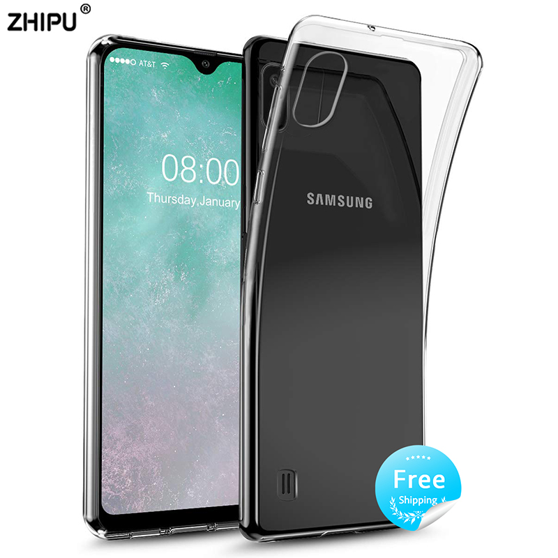 Case for Silicon Samsung Galaxy Back-Cover Transparent A10 Fitted-Bumper Clear TPU