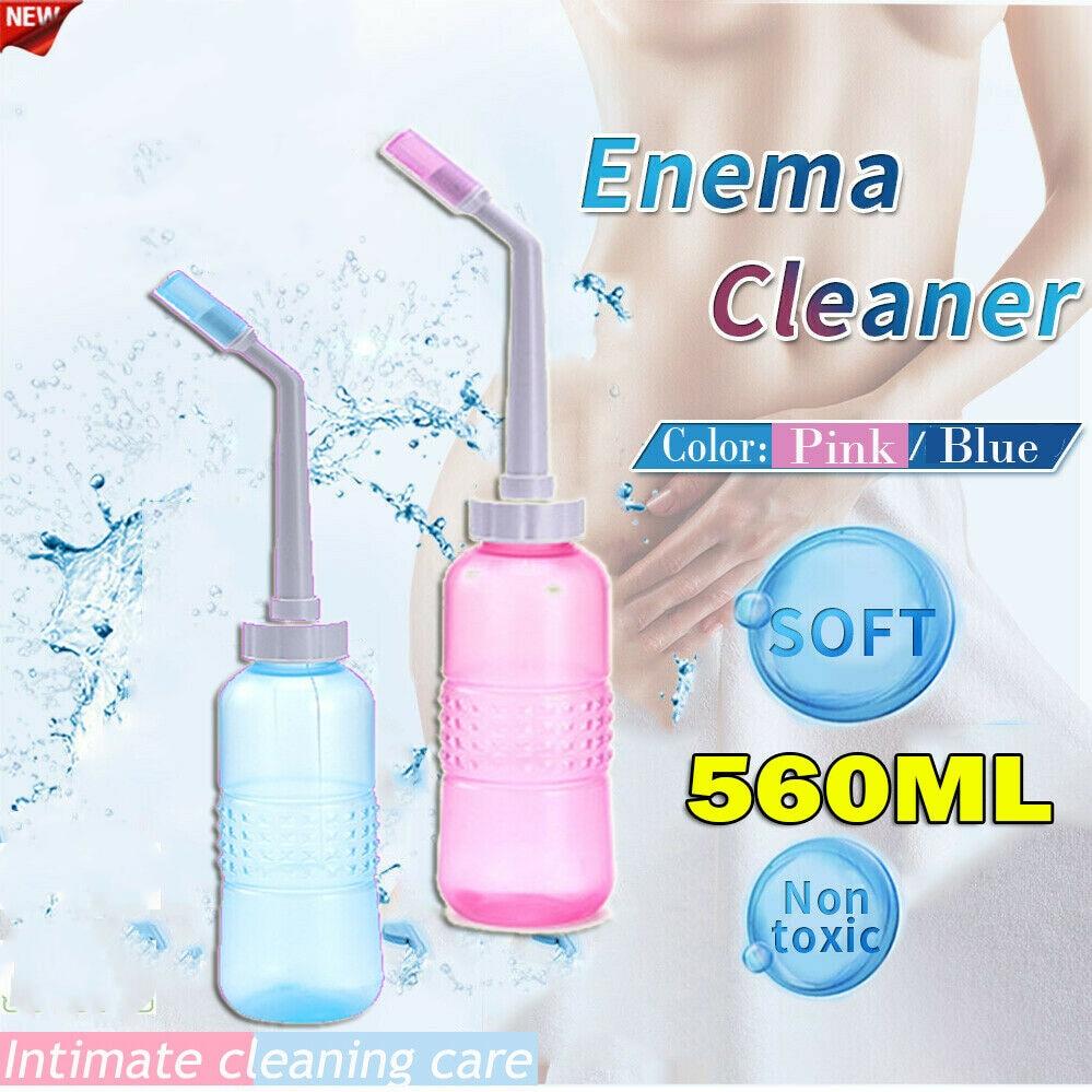 HOT Vaginal/Anal Douche Cleaner Enema Anal Vagina Cleaning Kit Enema Bottle Pump