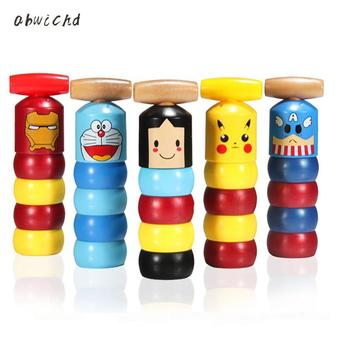 1set Immortal Daruma Unbreakable Wooden Man Magic Tricks Close Up Magia Mentalism Illusion Gimmick Props Japan Traditional Toys vanishing cole bottle empty magic tricks coke stage close up illusions accessories mentalism fun magic props classic toy gimmick