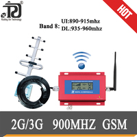 2g gsm 900mhz cellphone signal Booster UMTS 900MHZ 3g Mobile Signal Booster+Whip antenna + Yagi Antenna + 10m cable Suit