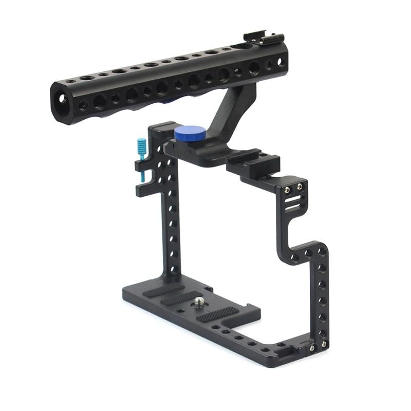Penstabil kandang kamera, kandang video kamera paduan aluminium untuk - Kamera dan foto - Foto 1