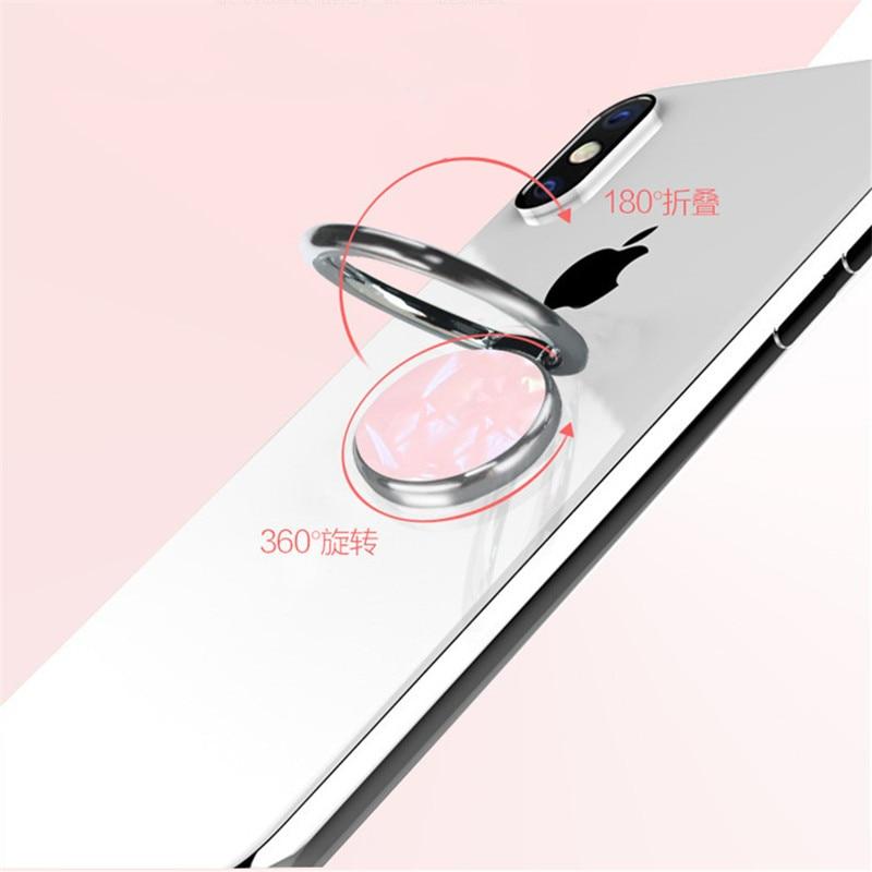 Shell mobile phone ring bracket Holder Ring for Finger Mobile Phone holder iPhone Huawei Samsung universal