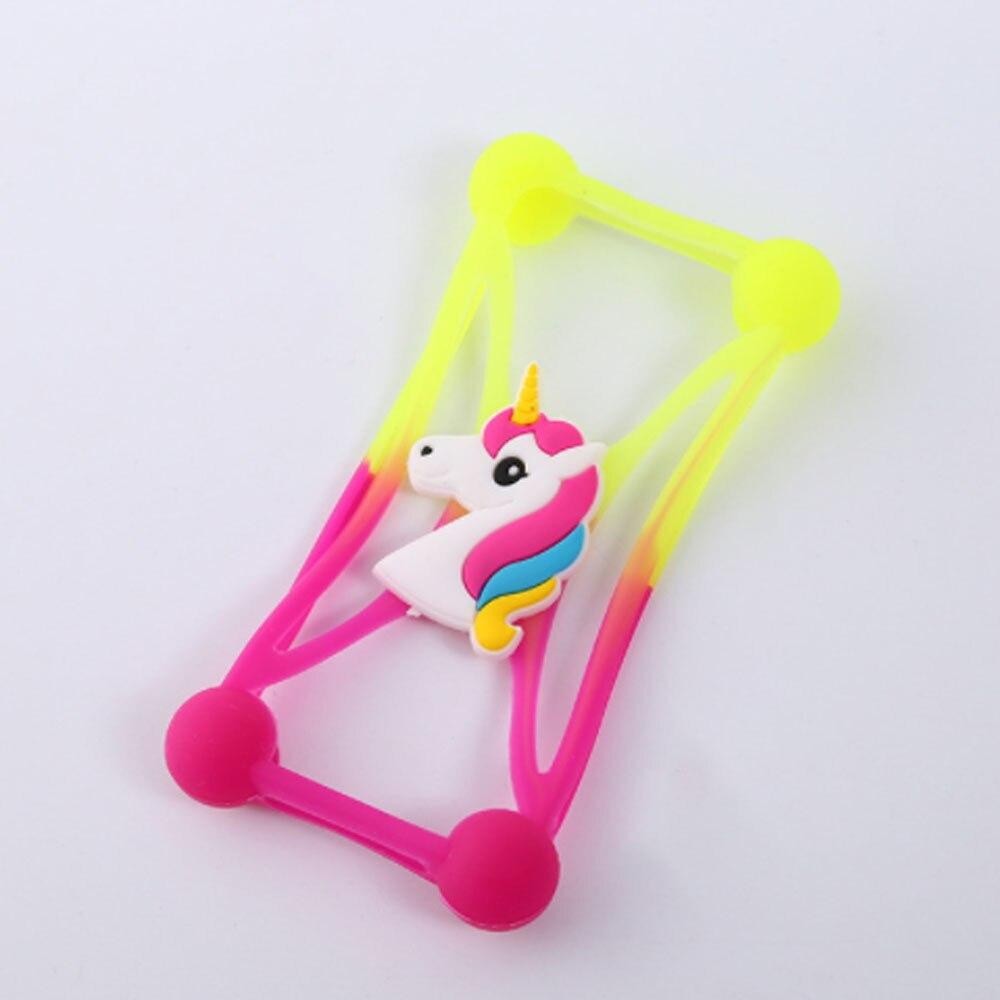 Универсальный 3D Мягкий силиконовый чехол Модный мультяшный мобильный телефон чехол анти-осенний Универсальный защитный чехол