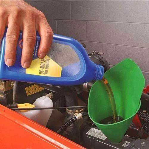 Mintiml Flexible Refueling Long Funnel Oil Additive Motorcycle Farm Machine Funnel Car Refueling Longer Funnel Gasoline Engine