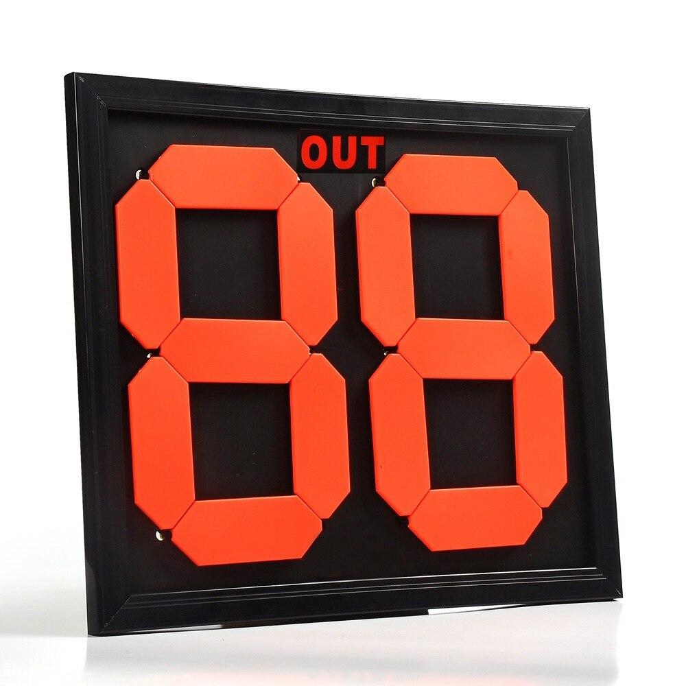 Футбольное табло замены игроков Двусторонняя замена карты рефери только футбол удваивается нет замена карты