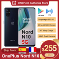 Глобальная версия OnePlus Nord N10 5G Смартфон Snapdragon 690 Android 10,0 90 Гц Дисплей 64MP Quad камеры Warp 30T NFC мобильный телефон
