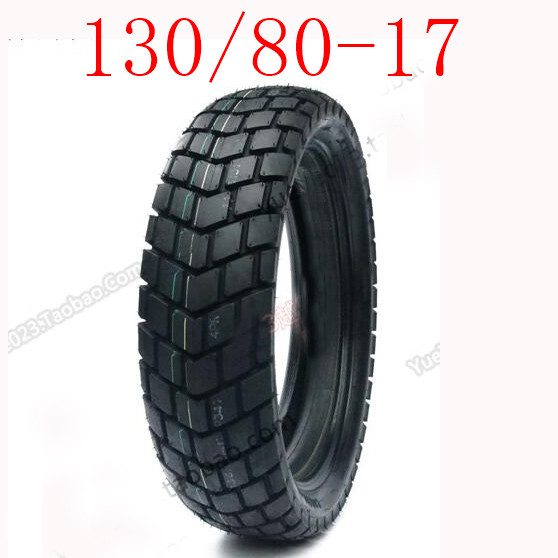 High Quality130 / 80-17 Road and Off-road Dual Purpose Inner and Outer Tires 17 Tortoise Back Tires 17 Inch Universal image