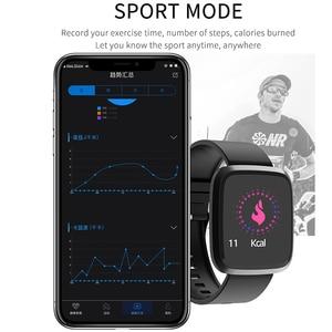 Image 2 - BINSSAW kadınlar akıllı saatler egzersiz kalp atışı takip cihazı IP67 su geçirmez spor akıllı bileklik erkekler renkli ekran Alarm bilezik