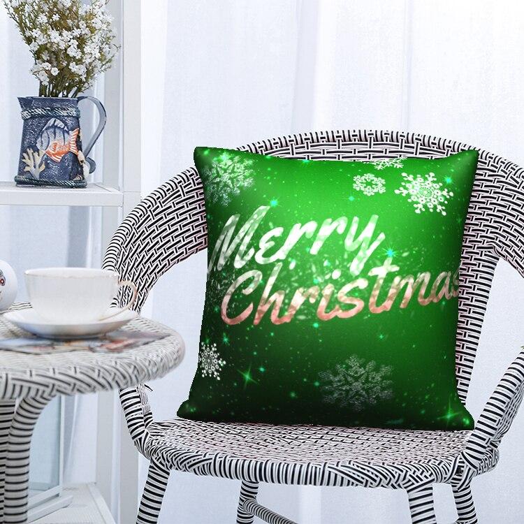 Купить nanacoba счастливого рождества подушка чехол рождественский