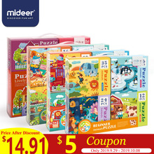 MiDeer Puzzles for Kids Children Toys Paper Puzzle 16/32pcs Cartoon Animals Educational Box  > 3 Y