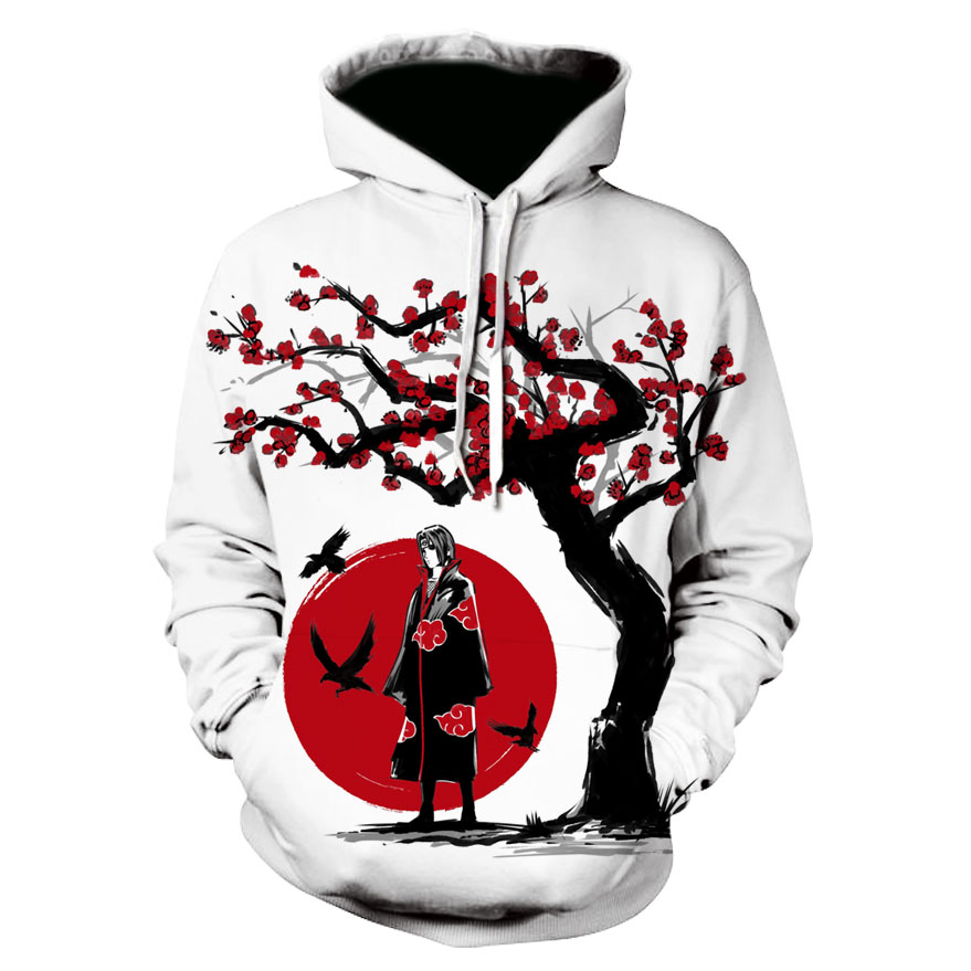 Cool New Design Hot Anime Naruto Hoodies 2019 Men Women Autumn Pullovers 3D Hooded Sweatshirts Naruto 3D Hoody Tops Plus Size