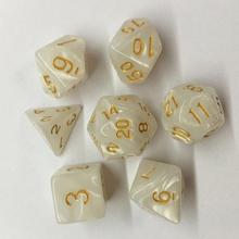 Game Dice-Set Entertainment-Dice Playing TRPG Mixed-Color Multi-Sides