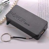 Caja de almacenamiento de batería de 5600mAh, cargador de batería USB 2X 18650, para iPhone, Samsung, portátil, alta calidad, bricolaje