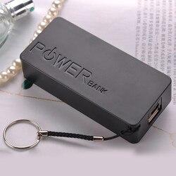 Чехол для портативного зарядного устройства «сделай сам», 5600 мАч, 2X 18650, чехол для зарядного устройства USB для iPhone, Sumsang, портативный высокока...