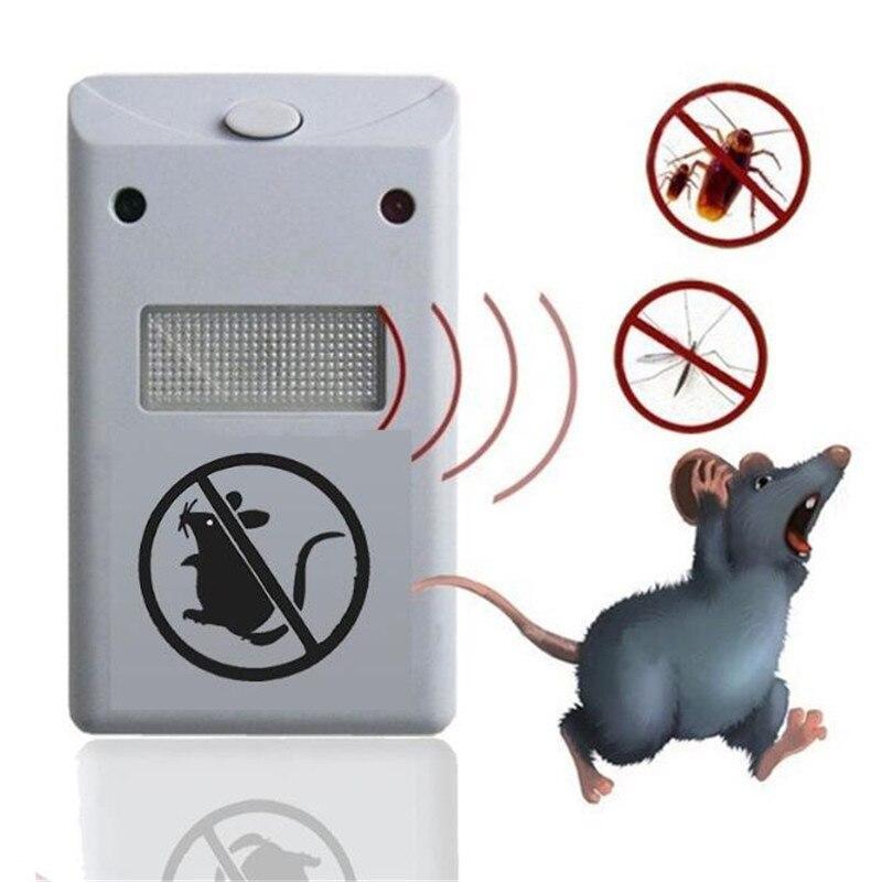 1pc controle de pragas eletrônico ultra-sônico & mouse repelente repelente mouse roedor repelente anti mosquito