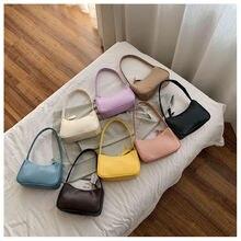 Модные дизайнерские женские маленькие сумочки багет дамские