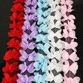(140 teile/los) Schmetterling Chiffon spitze stoff Gurtband Dekoration Liebe geschenk bänder handwerk 50mm breite