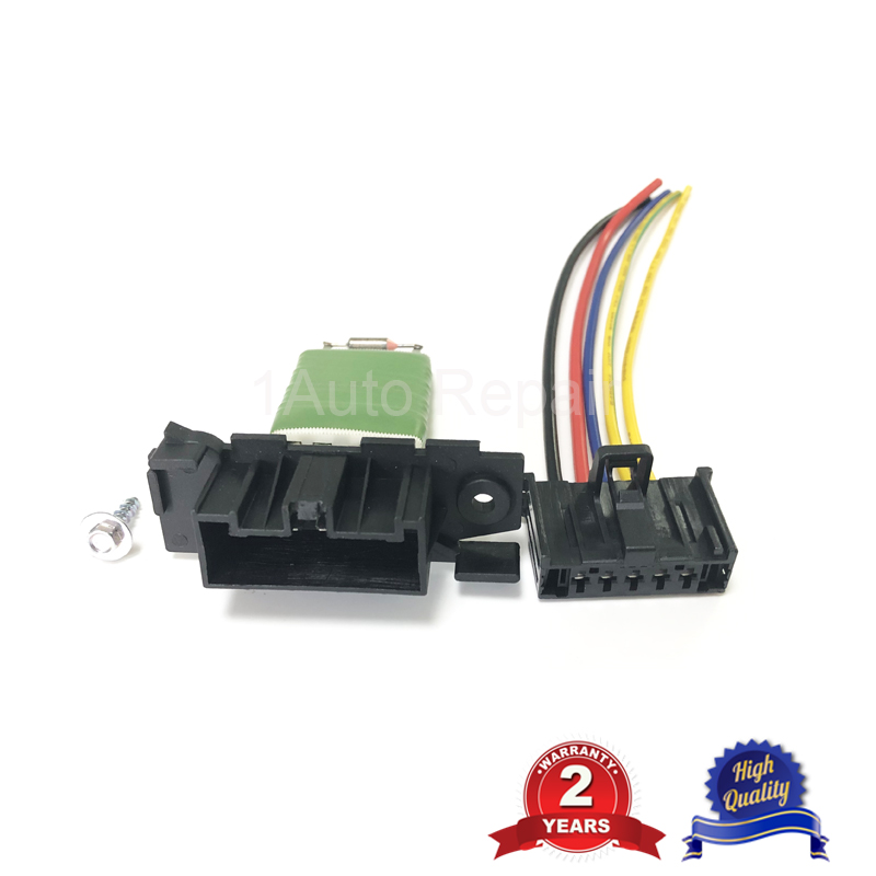 Heater Blower Resistor Wiring Loom Harness Connector For