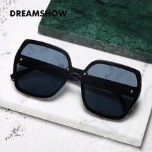 Модные женские солнцезащитные очки с градиентными линзами квадратные