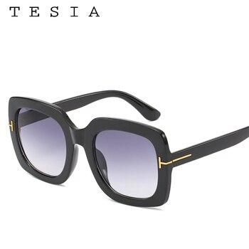 Square Women Sunglasses Vintage  1