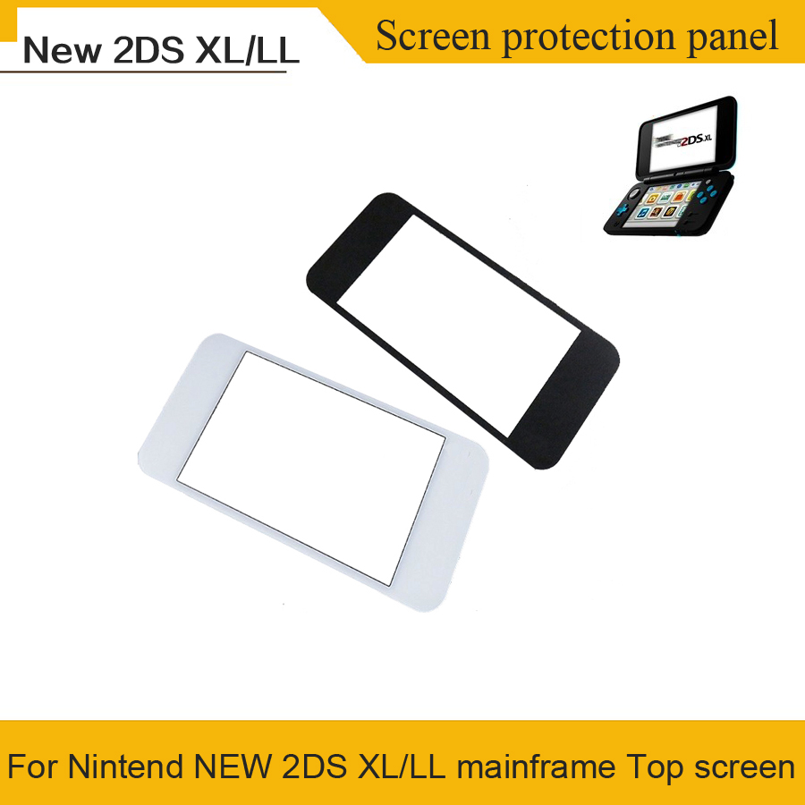Original Brand NEW Top Surface Glass For Nintend NEW <font><b>2DS</b></font> <font><b>XL</b></font>/LL Console Top LCD Mirror Front Lens For NEW <font><b>2DS</b></font> LL image