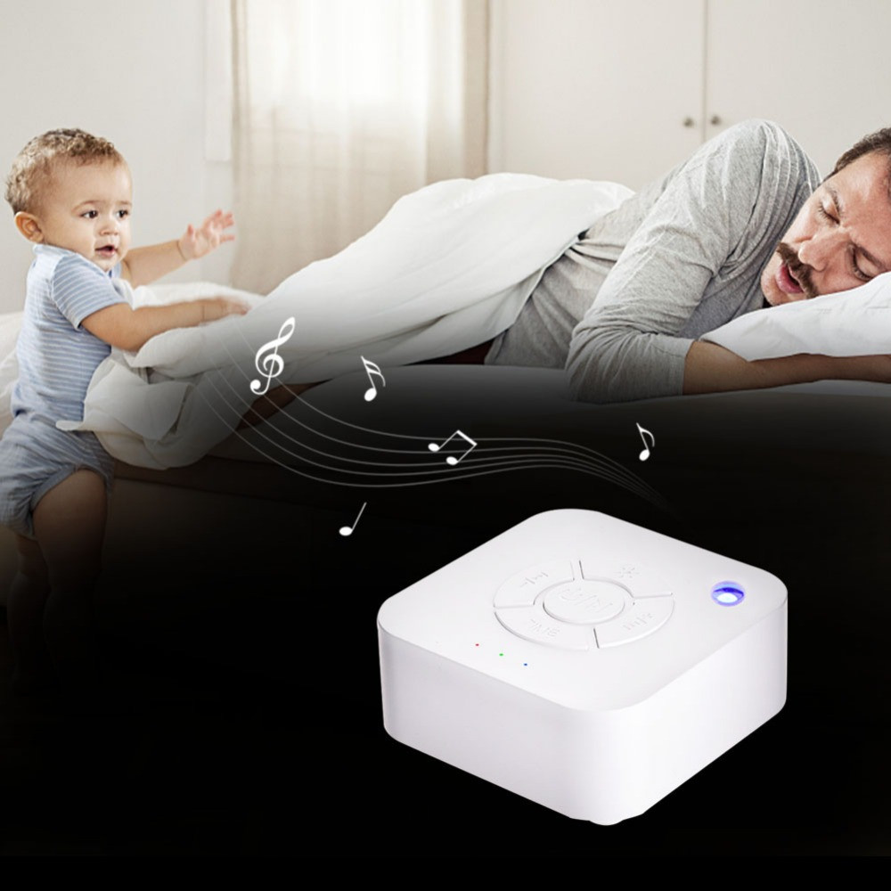 Baby Toys White Noise Machine USB Rechargeable Timed Shutdown Sleep Sound Machine For Sleeping Relaxation Adult Office Travel
