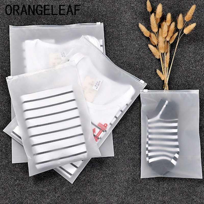 2019 New Transparent Cosmetic Packing Organizers Bag Travel Accessories Clothes Classified Bags Shoes Bags Multi Sizes