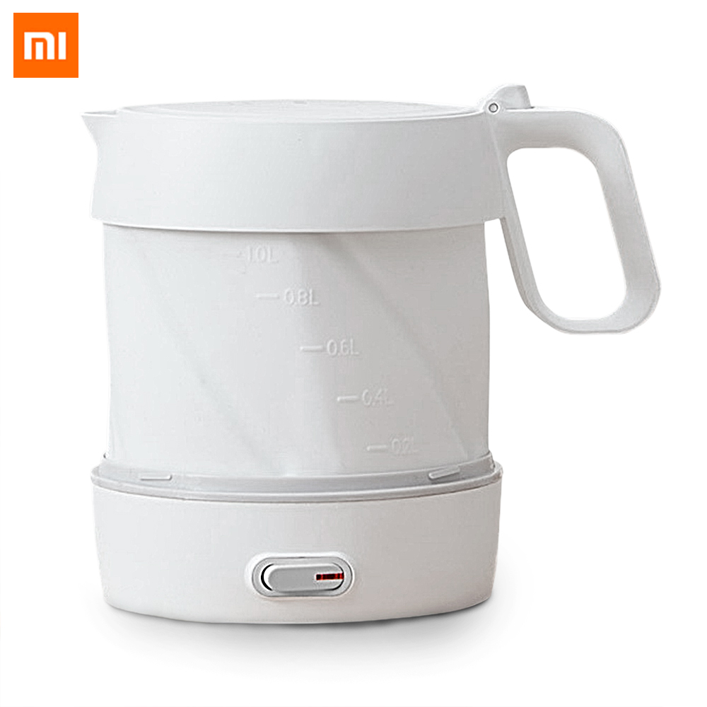Xiaomi Mijia HL Folding Wired Kettle Handheld Instant Heating Electric Water Kettle Auto Power off Protection Electric Kettle