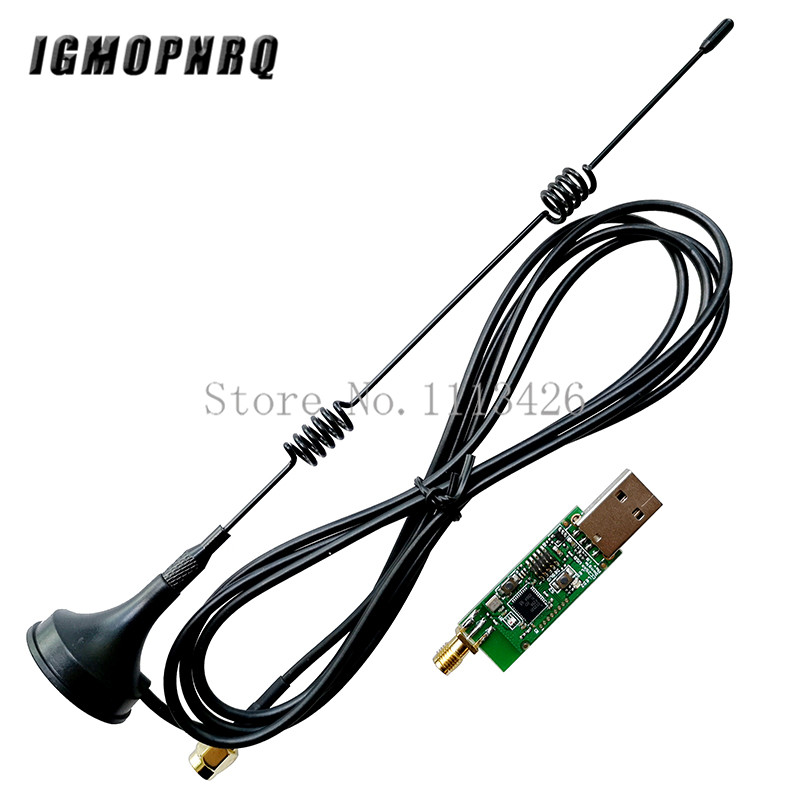 Wireless Zigbee CC2531 CC2540 Sniffer Board Packet Protocol Analyzer Module USB Interface Dongle Capture Module With Antenna