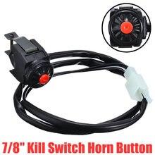 1 шт переключатель остановки мотоцикла скутера красная кнопка