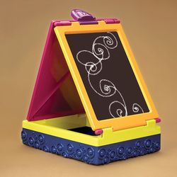 B. Toys hua ban xiang 1487 Travel Little Painter Portable Drawing Board Box Sketch Easel a Generation of Fat